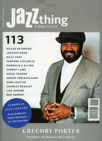 Zeitschriften: JAZZthing - Magazin für Jazz (113) April/Mai 2016, Zeitschrift