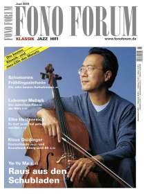Zeitschriften: FonoForum Juni 2016 , Zeitschrift