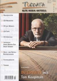 Zeitschriften: TOCCATA - Alte Musik aktuell (83), Zeitschrift