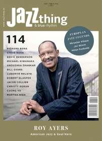 Zeitschriften: JAZZthing - Magazin für Jazz (114) Juni-August 2016, Zeitschrift