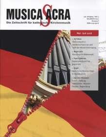 Zeitschriften: Musica Sacra - Zeitschrift für kath. Kirchenmusik  3/2016(Mai - Juni), Zeitschrift