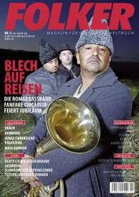 Zeitschriften: Folker - Magazin für Folk, Lied & Weltmusik Juli - August 2016, Zeitschrift