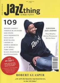 """Zeitschriften: JAZZthing - Magazin für Jazz (109) Juni - August 2015 + CD im Heft """" Bare Necessities - 40 years of Bear Family, Zeitschrift"""