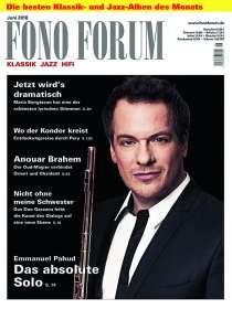 Zeitschriften: FonoForum Juni 2018, Zeitschrift