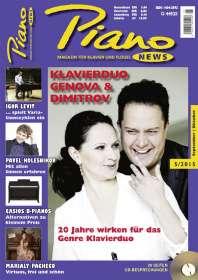 Zeitschriften: PIANONews - Magazin für Klavier & Flügel (Heft 5/2015), Zeitschrift