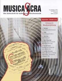 Zeitschriften: Musica Sacra - Zeitschrift für kath. Kirchenmusik  5/2015(September-Oktober), Zeitschrift