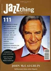 Zeitschriften: JAZZthing - Magazin für Jazz (111) November 2015 - Januar 2016, Zeitschrift