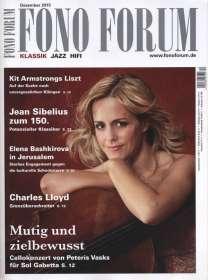 Zeitschriften: FonoForum Dezember 2015 , Zeitschrift