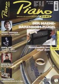 Zeitschriften: PIANONews - Magazin für Klavier & Flügel (Heft 1/2016), Zeitschrift
