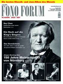Zeitschriften: FonoForum Juli 2018, Zeitschrift