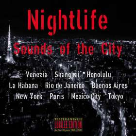 Nightlife: Sounds Of The City, CD