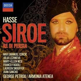 Johann Adolph Hasse (1699-1783): Siroe, 2 CDs