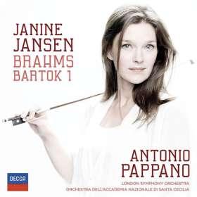 Janine Jansen - Brahms & Bartok, CD