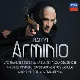 Georg Friedrich Händel (1685-1759): Arminio, 2 CDs