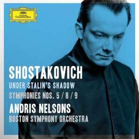 Dimitri Schostakowitsch (1906-1975): Symphonien Nr.5,8,9, 2 CDs