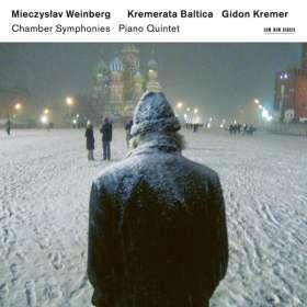 Mieczyslaw Weinberg (1919-1996): Kammersymphonien Nr. 1-4, 2 CDs