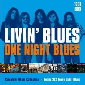 Livin' Blues: One Night Blues - Complete Album Collection, 12 CDs
