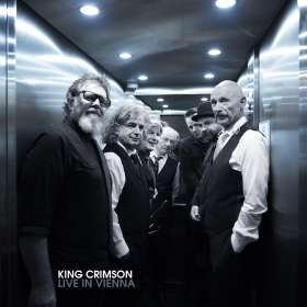 King Crimson: Live in Vienna, December 1st, 2016, 3 CDs