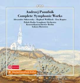 Andrzej Panufnik (1914-1991): Sämtliche Orchesterwerke, 8 CDs
