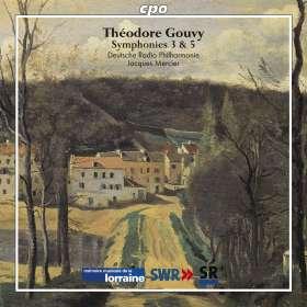 Louis Theodore Gouvy: Symphonien Vol. 1, CD