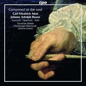 Carl Friedrich Abel (1723-1787): Concerti, Quartetti & Arie, CD