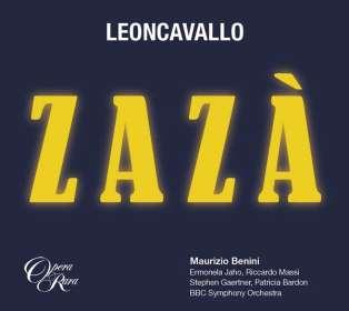 Ruggero Leoncavallo (1858-1919): Zaza, 2 CDs
