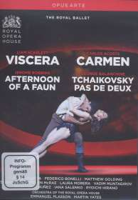 The Royal Ballet: Viscera / Carmen / Afternoon of a Faun / Tschaikowsky Pas de Deux, DVD