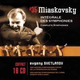 Nikolai Miaskowsky (1881-1950): Symphonien Nr.1-27, 16 CDs