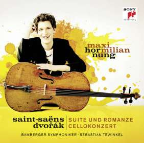 Maximilian Hornung - Saint-Saens & Dvorak, CD