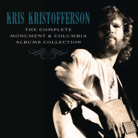 Kris Kristofferson: The Complete Monument & Columbia Album Collection, 16 CDs