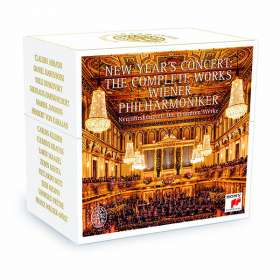 Neujahrskonzert der Wiener Philharmoniker - Sämtliche 319 Werke, 23 CDs