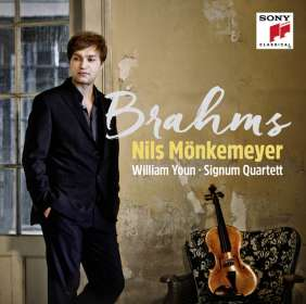 Nils Mönkemeyer - Brahms, CD