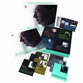 Nikolaus Harnoncourt - The Complete Sony Recordings, 61 CDs