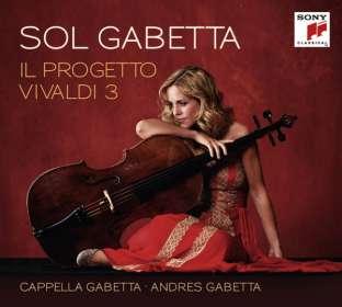 Sol Gabetta - Il Progetto Vivaldi 3 (Deluxe-Edition), CD