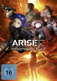 Ghost in the Shell - Arise: Pyrophoric Cult, DVD