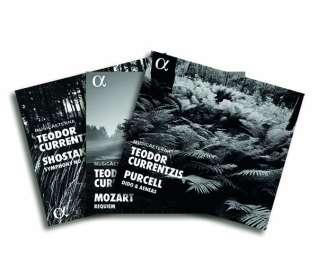 Teodor Currentzis - Alpha Recordings, 3 CDs