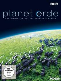 Planet Erde Staffel 1, 2 DVDs