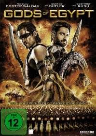 Gods Of Egypt, DVD