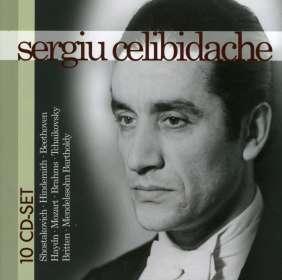 Sergiu Celibidache, 10 CDs