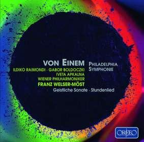 Gottfried von Einem (1918-1996): Philadelphia Symphonie op.28, CD