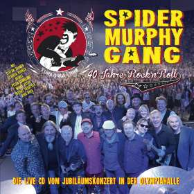 Spider Murphy Gang: 40 Jahre Rock'n'Roll, 2 CDs