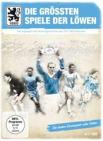 TSV 1860 München: Die größten Spiele der Löwen (Digipack), 2 DVDs