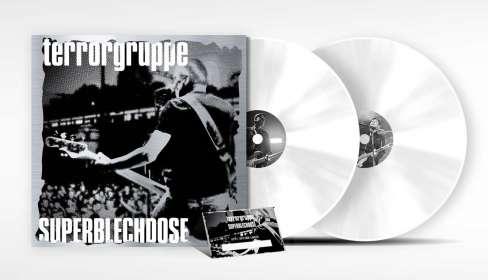 Terrorgruppe: Superblechdose: Live (Limited-Edition) (White Vinyl), 2 LPs