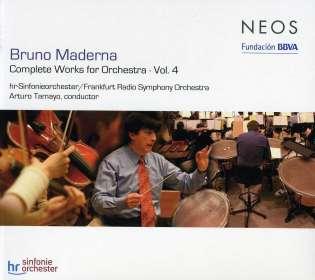 Bruno Maderna (1920-1973): Orchesterwerke Vol.4, SACD