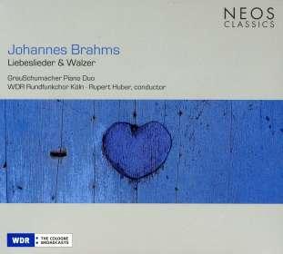 Johannes Brahms (1833-1897): Liebeslieder-Walzer op.52 & 65, SACD