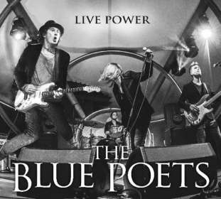 The Blue Poets: Live Power (signiert, exklusiv für jpc), CD