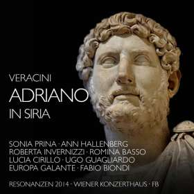 Francesco Veracini (1690-1768): Adriano in Siria, 3 CDs
