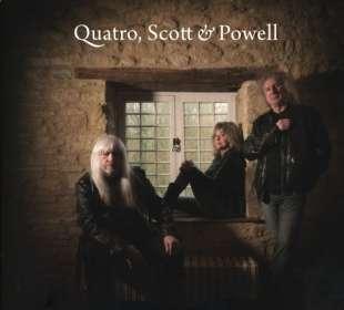 QSP (Suzi Quatro, Andy Scott & Don Powell): Quatro Scott Powell, CD