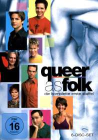 Queer as Folk Season 1, 6 DVDs