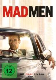 Mad Men Season 7 Box 2 (finale Staffel), 3 DVDs